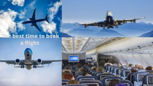 The best time to book a flight for domestic, international and holiday travel