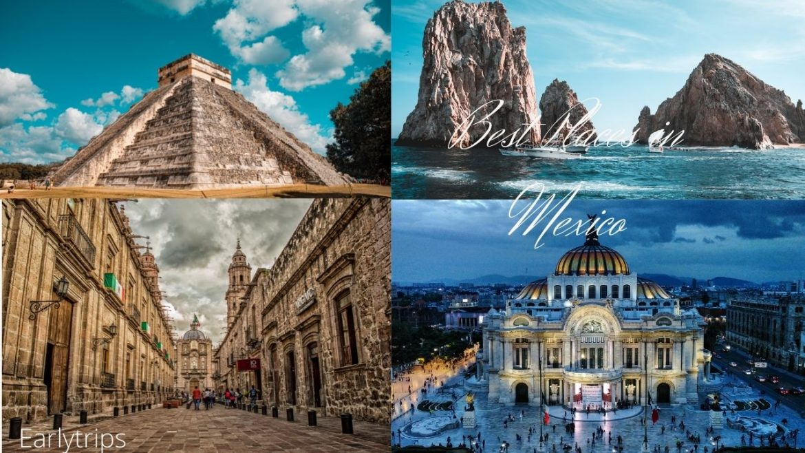 12 best places to go for first-time visitors to Mexico