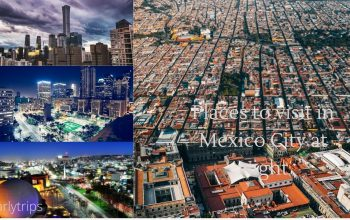 Places to visit at Mexico City at midnight.