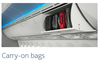american airlines carry on