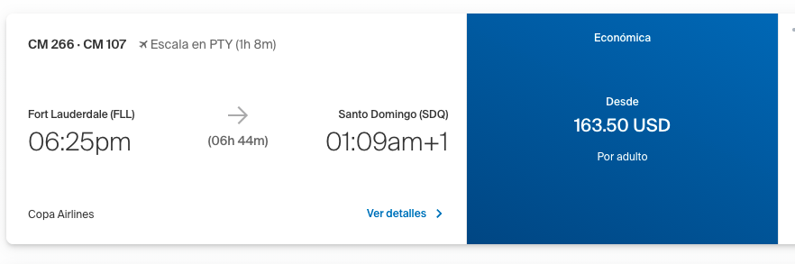 Copa Airlines Booking Flight